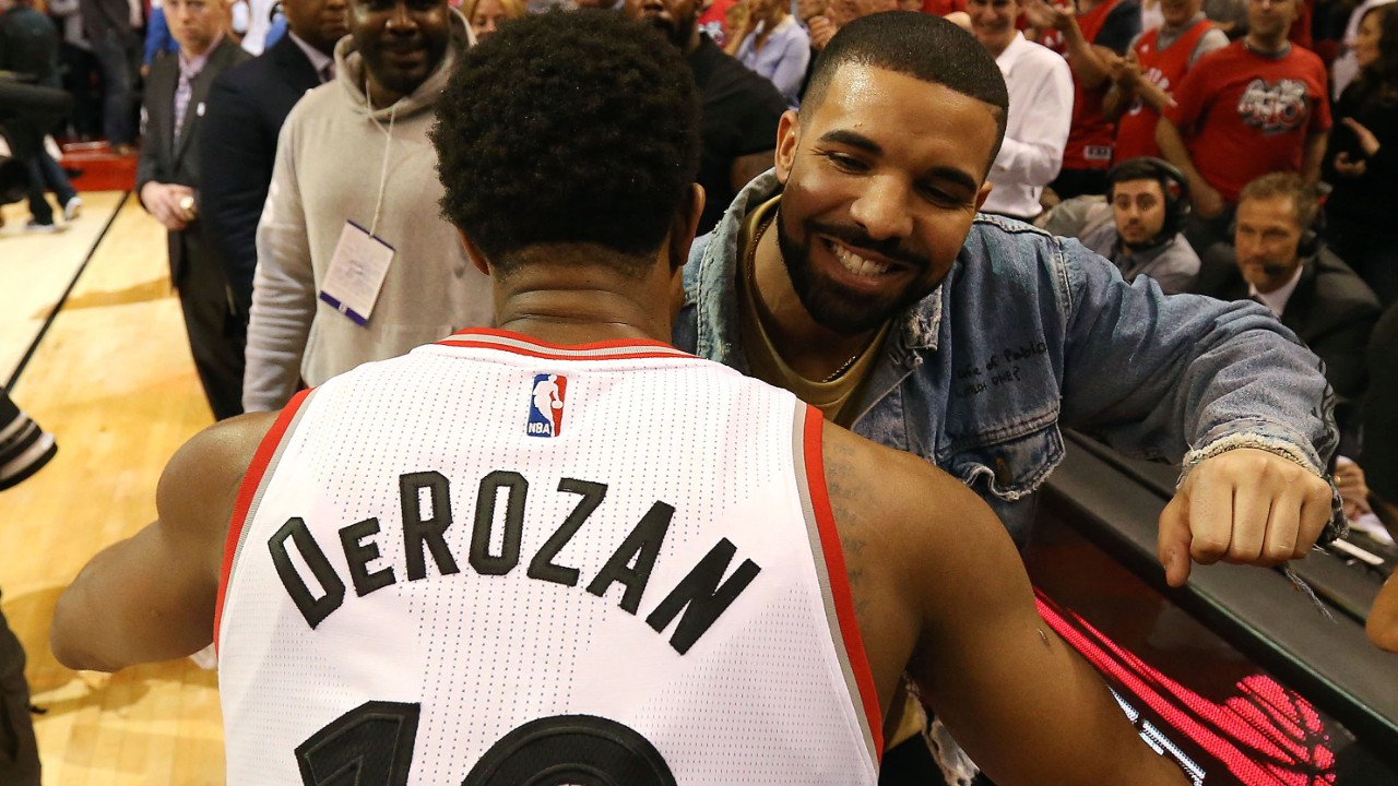 Drake Sends a Heartfelt Thank You to DeMar DeRozan on Instagram