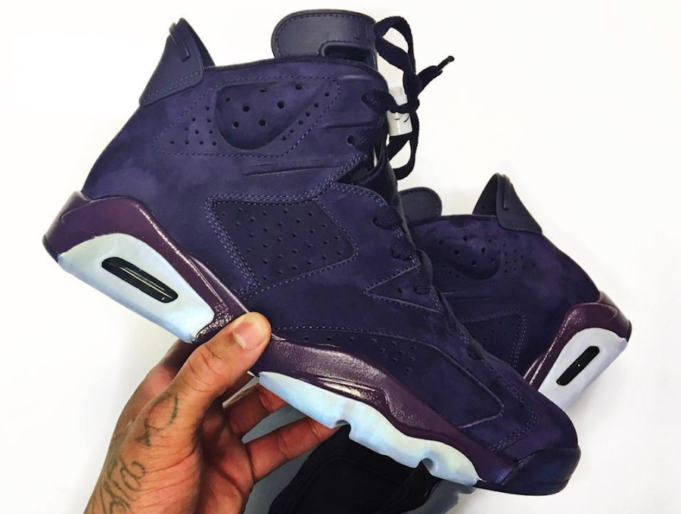 Are You Feeling These 'Purple Rain' Jordan 6?