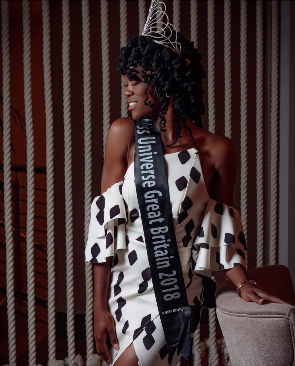 Dee-Ann Kentish-Rogers is First Miss Universe Great Britain in History