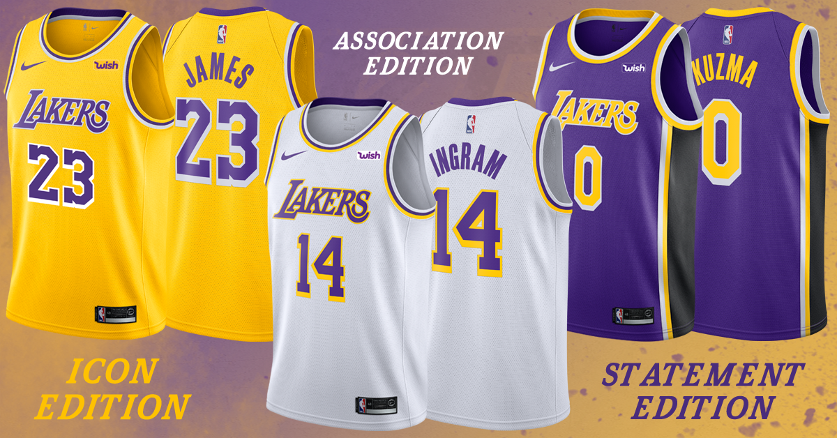 Showtime 2.0: Los Angeles Lakers Unveil New Jerseys for a New Era