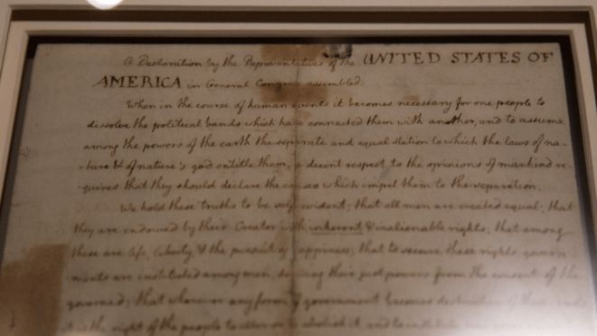 Facebook's Hate Speech Algorithm Censored Parts of the Declaration of Independence
