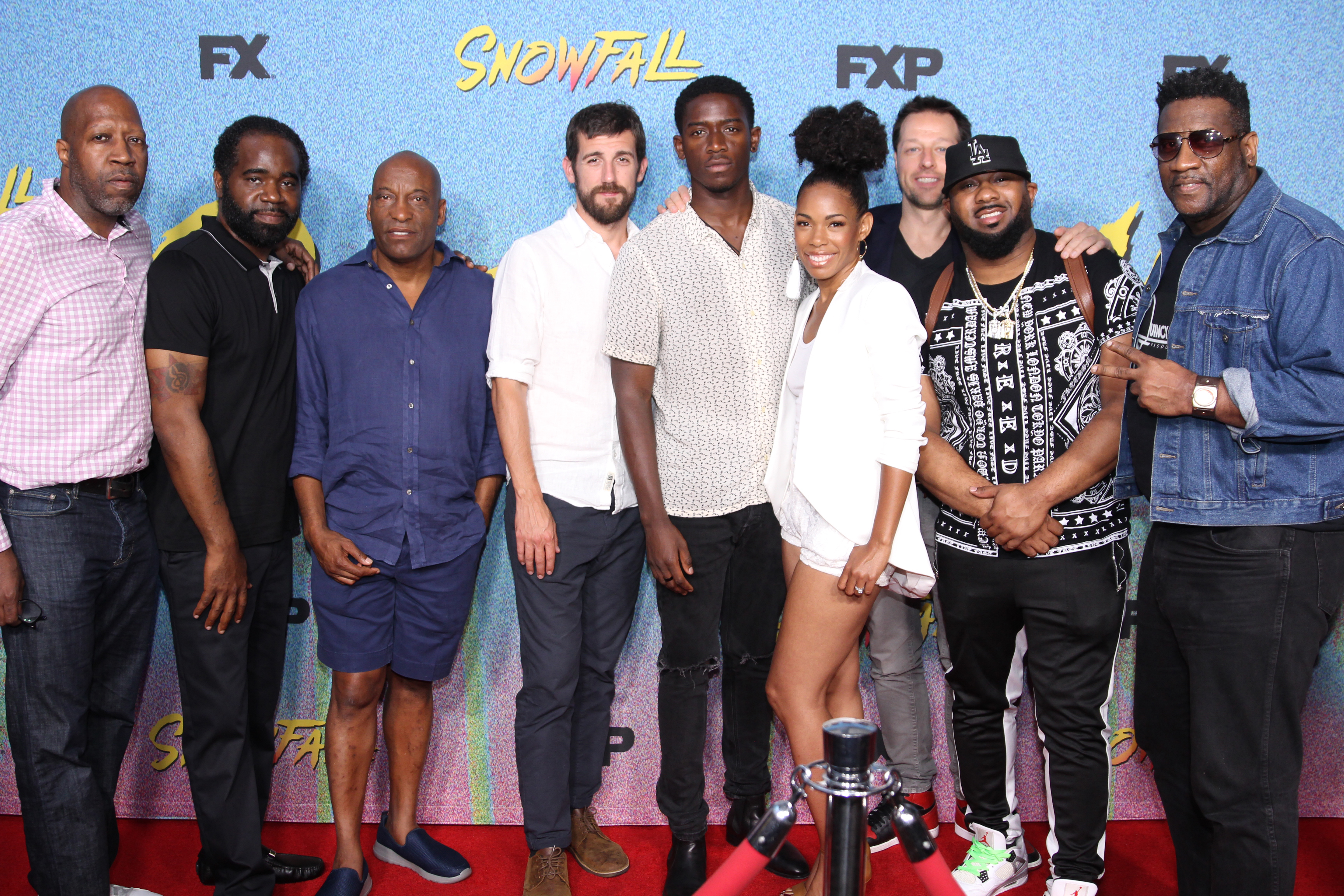 FX Premieres Season 2 'Snowfall' Episode in Chicago With