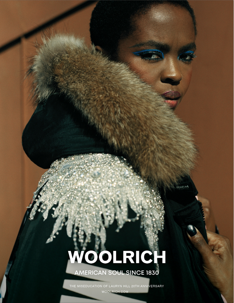 Lauryn Hill Is Starring In Her First Ever Fashion Campaign With Woolrich