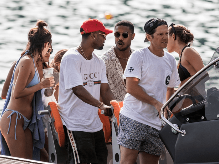 Michael B Jordan Hosts Yacht Party Filled With White Women, Not One Black Girl
