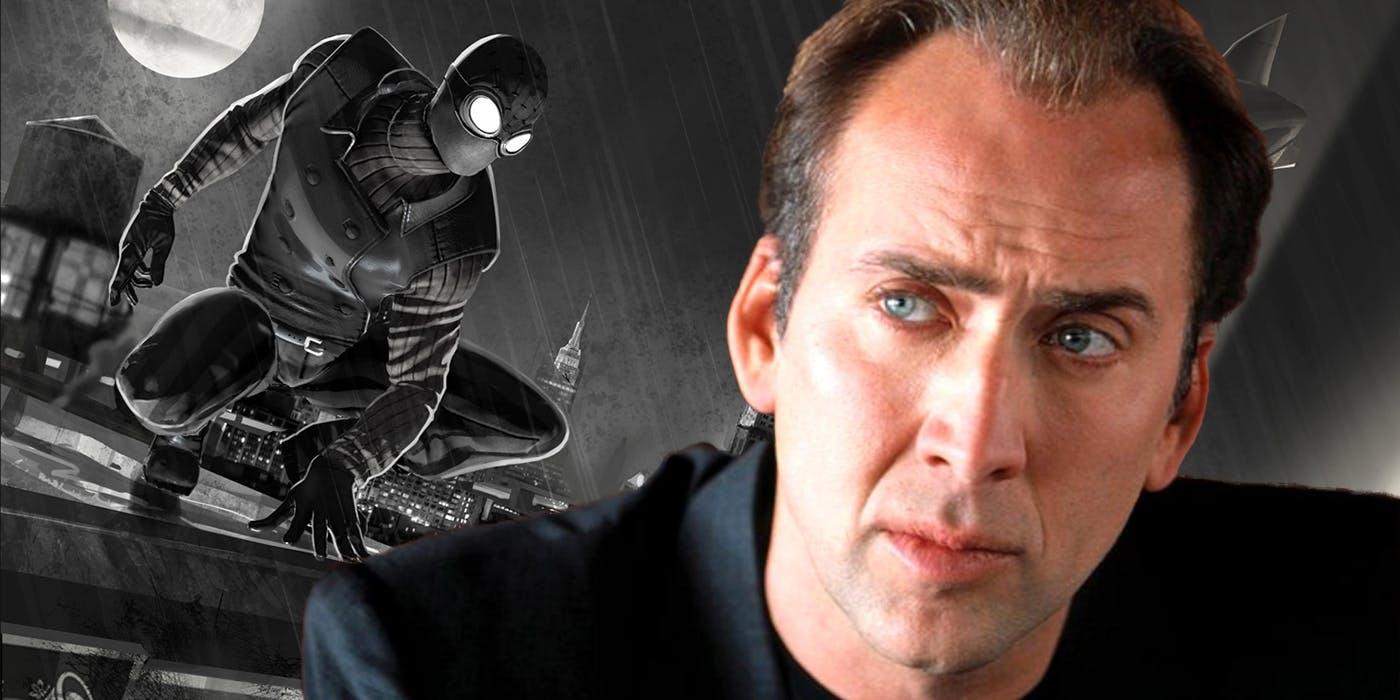 Nicolas Cage Spider Man Noir Header