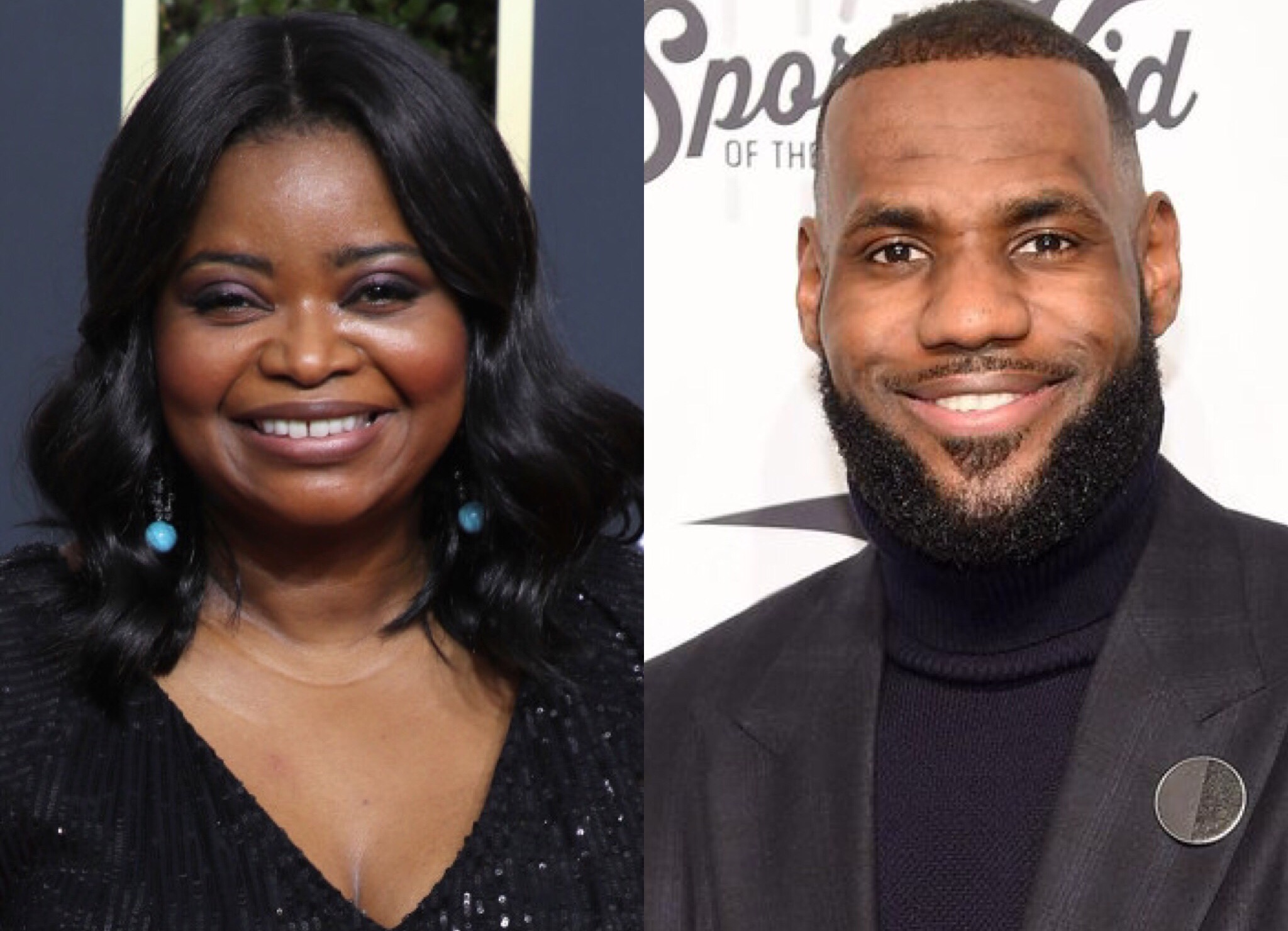 Octavia Spencer LeBron James