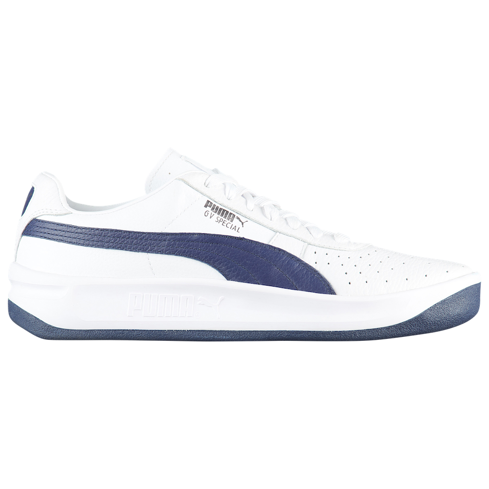 navy blue and white pumas,Free Shipping