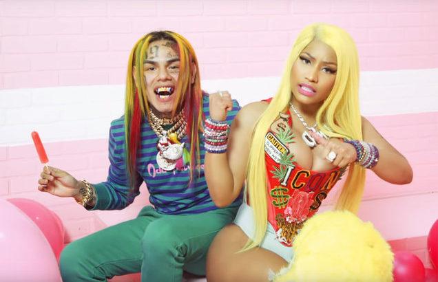 Tekashi 6ix9ine's 'FEFE' Surpasses Drake's 'In My Feelings' on Apple Music Charts