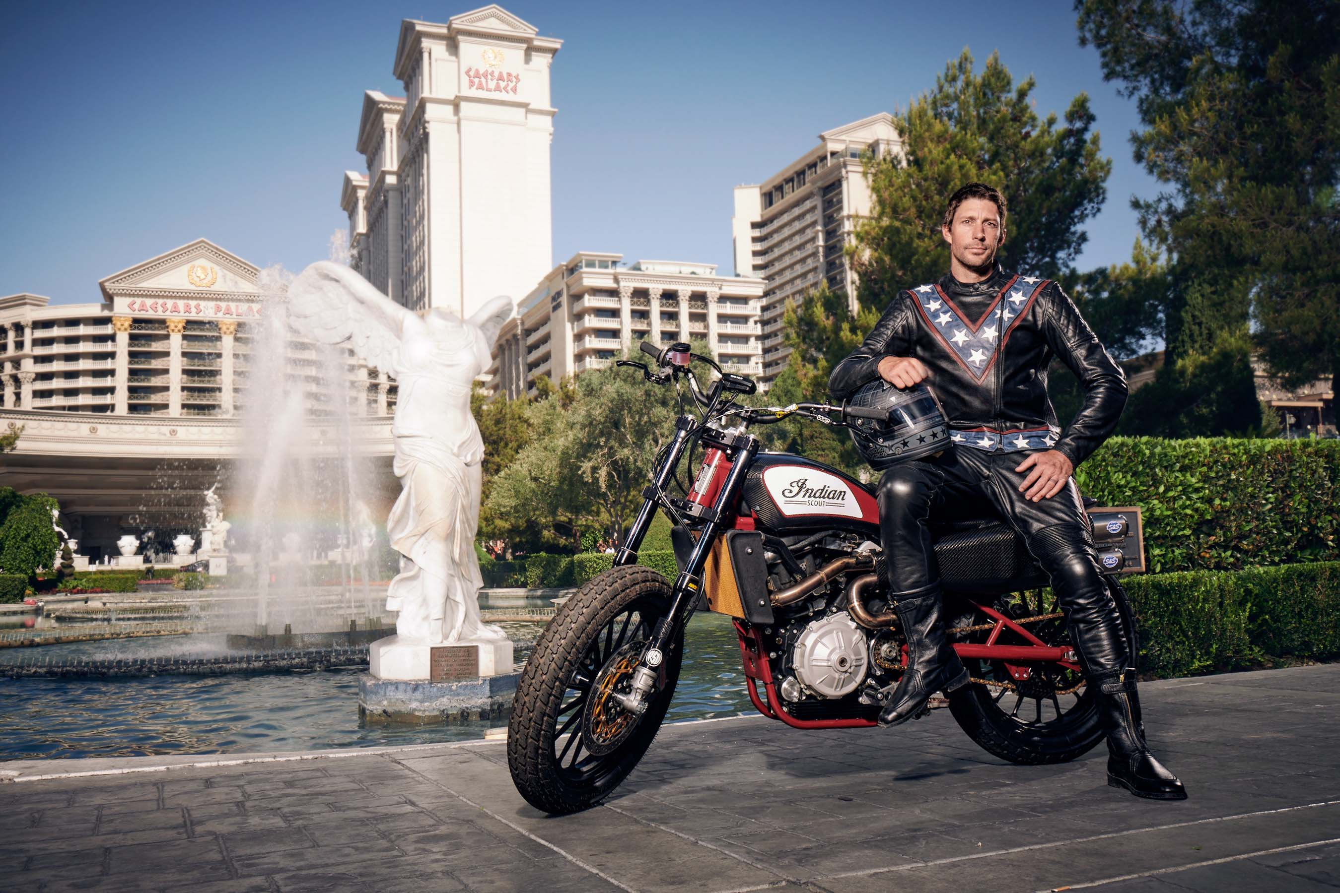 Travis Pastrana Completes Three of Evel Knievel's Iconic Jumps