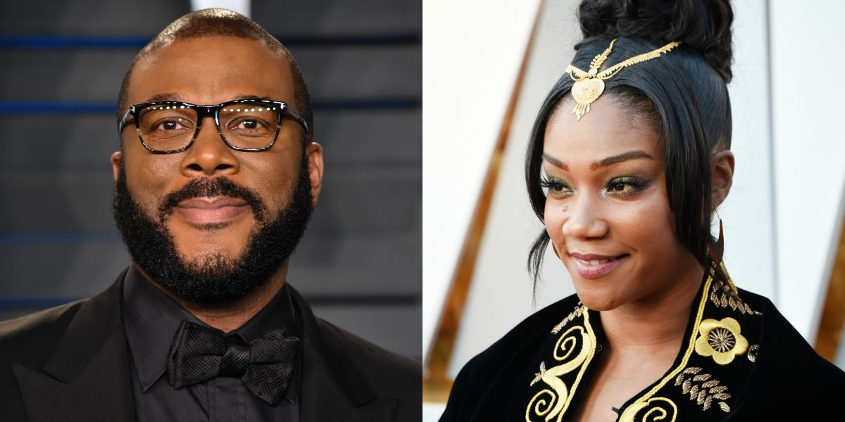Tyler Perry Gifts Tiffany Haddish Brand New Tesla