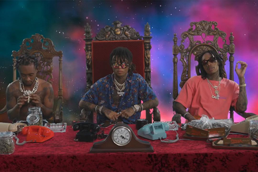 Wiz Khalifa Teams Up With Swae Lee for 'Dazed & Blazed' Parody Video