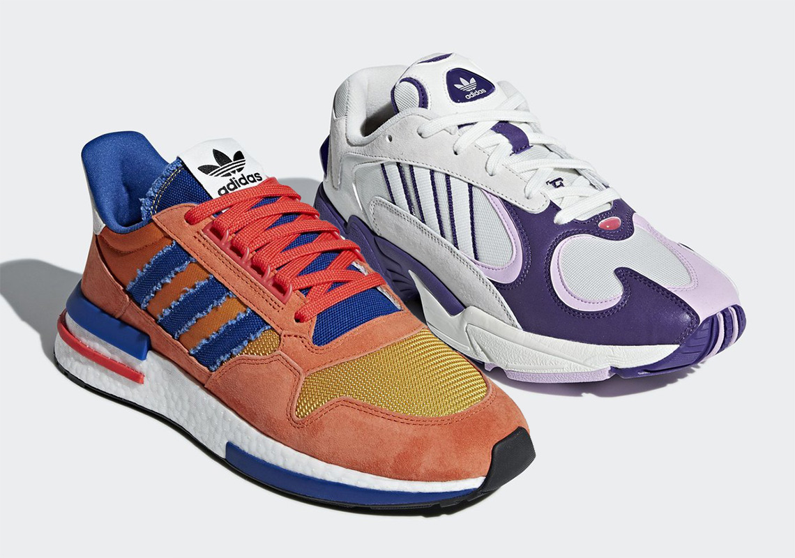 adidas dragon ball z son goku frieza