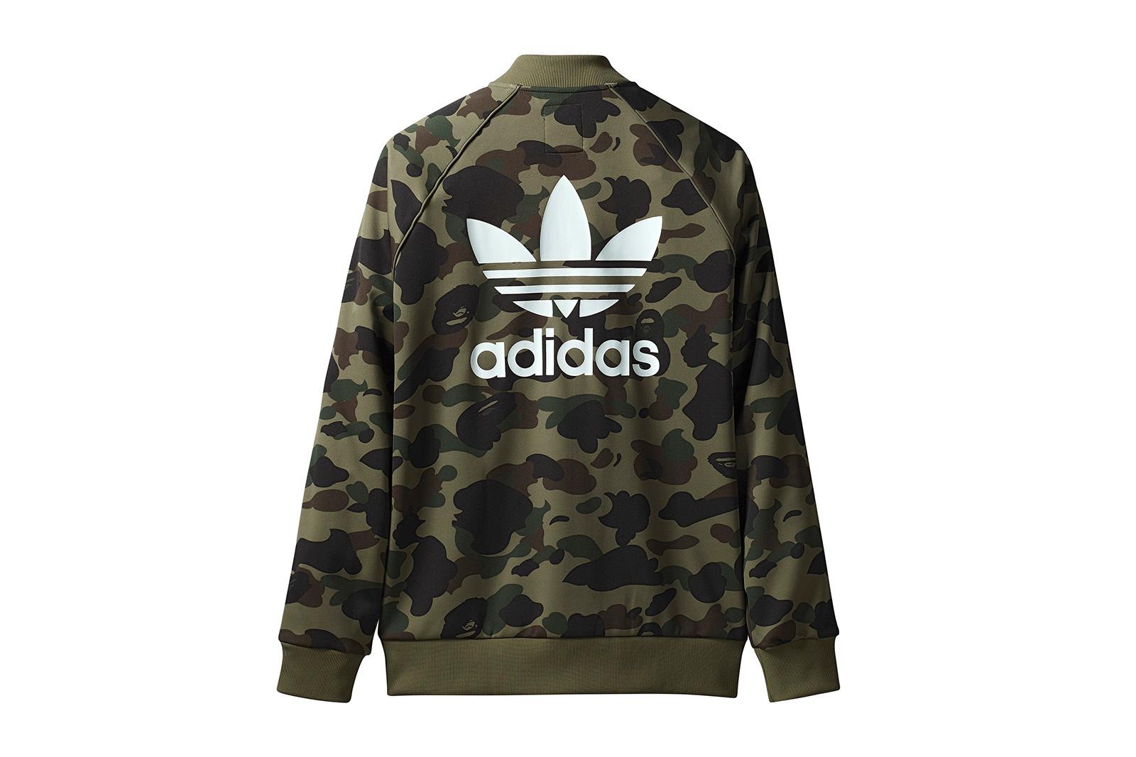 bape x adidas sweatshirt