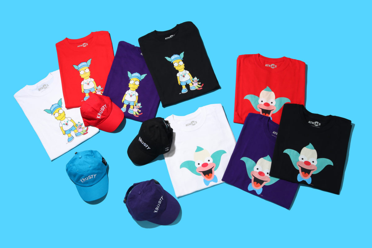 atmos lab the simpsons krusty collection