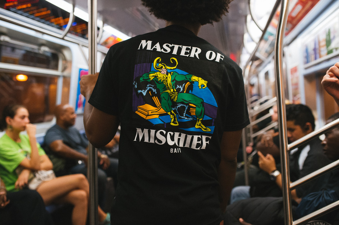 bait marvel vintage comics capsule collection
