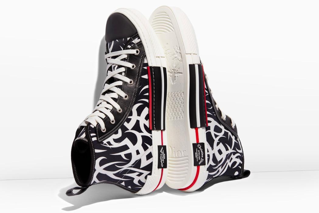 dior b socks b tribal sneaker