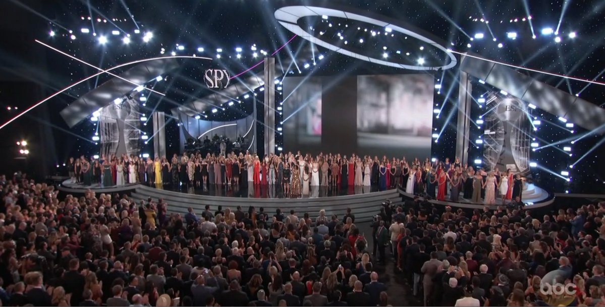 2018 ESPYs Headlined by Honoring of Larry Nassar Victims