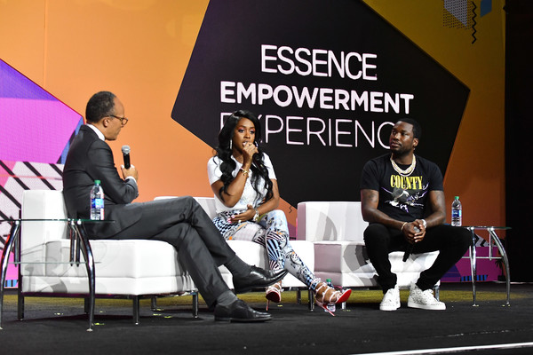 Meek Mill and Remy Ma Discuss the Criminal Justice System at Essence Festival