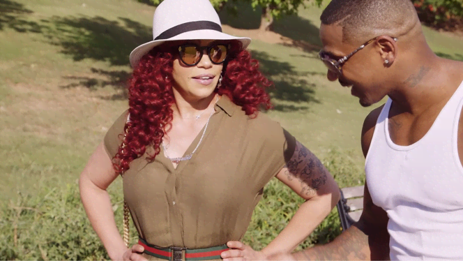 Stevie J & Faith Evans Got Married In Las Vegas!