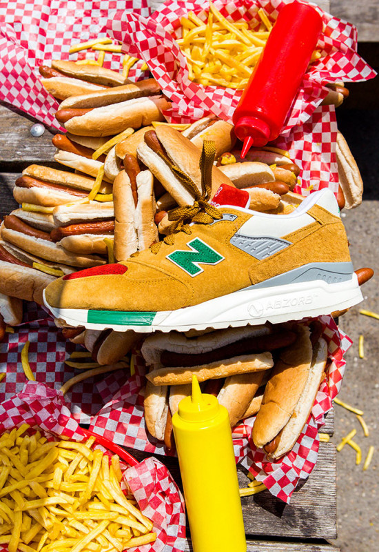 j crew new balance  mustard ketchup relish release date price