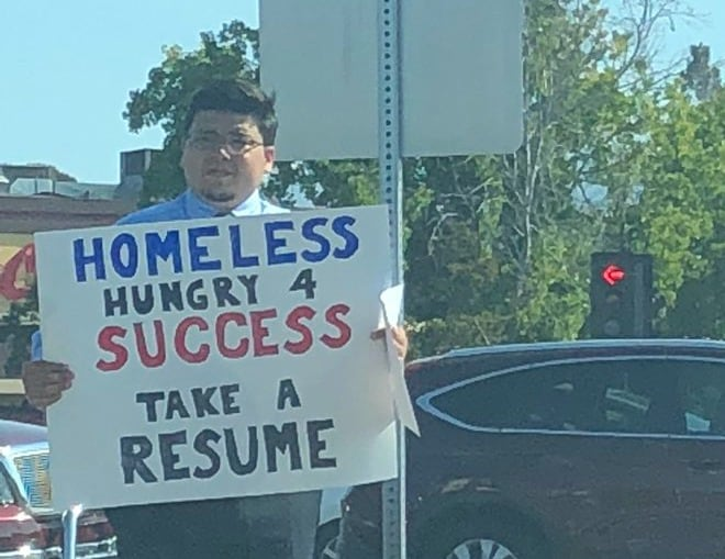 Homeless College Grad Lands Over 200 Job Offers After Viral Photo