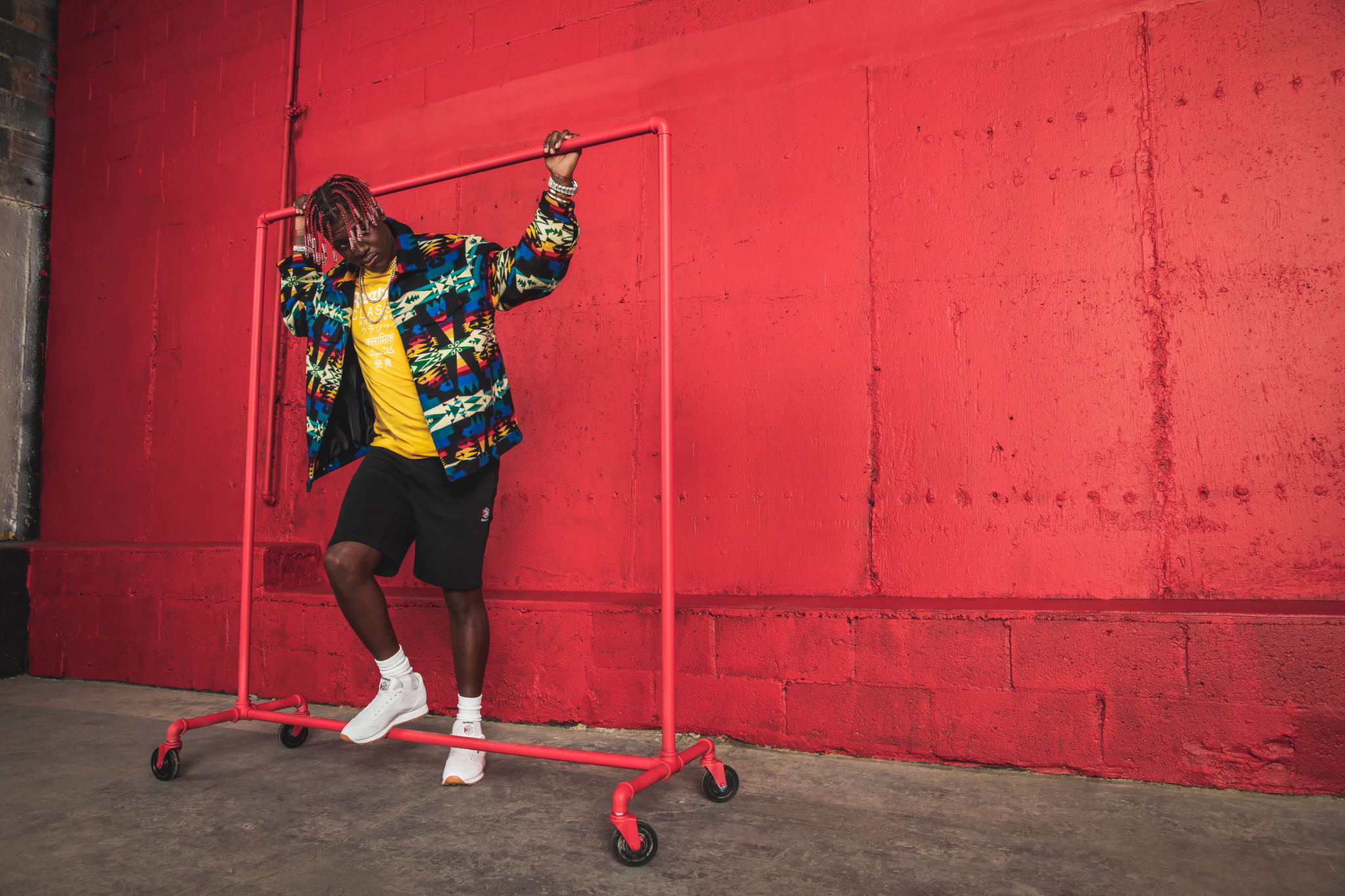 lil yachty reebok classic leather