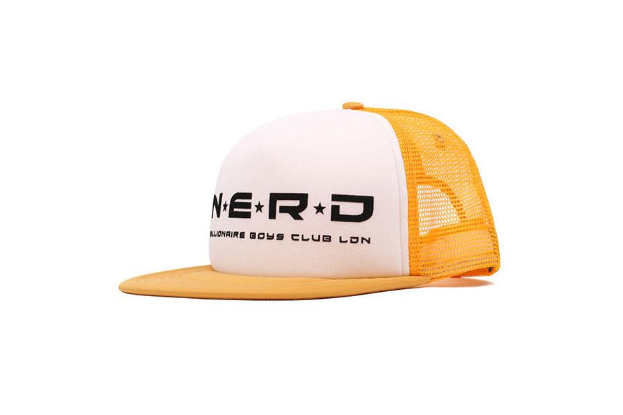 Pharrell Brings Back His Classic  00s Trucker Hat With N.E.R.D x  Billionaire Boys Club London Capsule 36c8c3771870