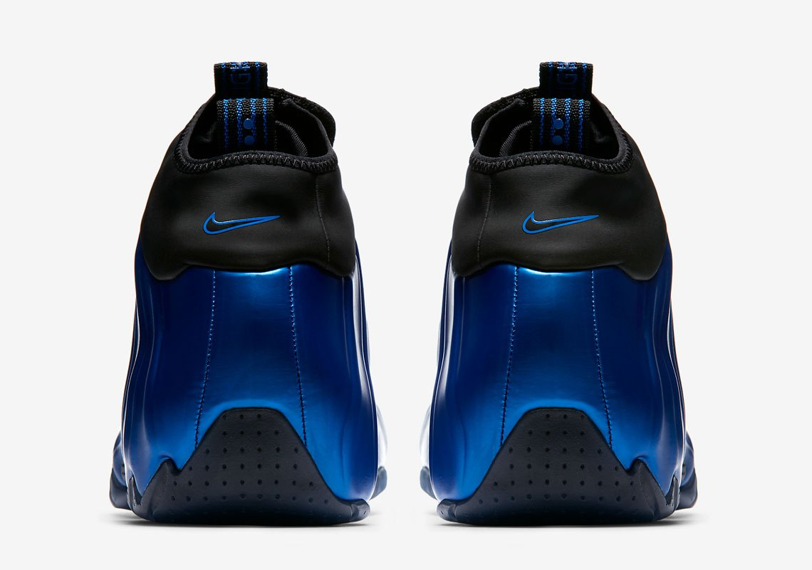 """online store 9b556 ae007 The Nike Flightposite One in """"Dark Neon Royal"""" arrives at retailers this  Saturday (July 28). Peep more pics in the meantime while you wait on this  sure-shot ..."""