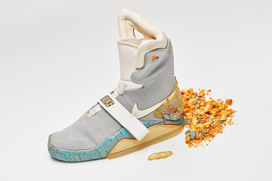 45c5d8cd5fb30 See How Much the Original Nike Mag From  Back to the Future II  Just Sold  For