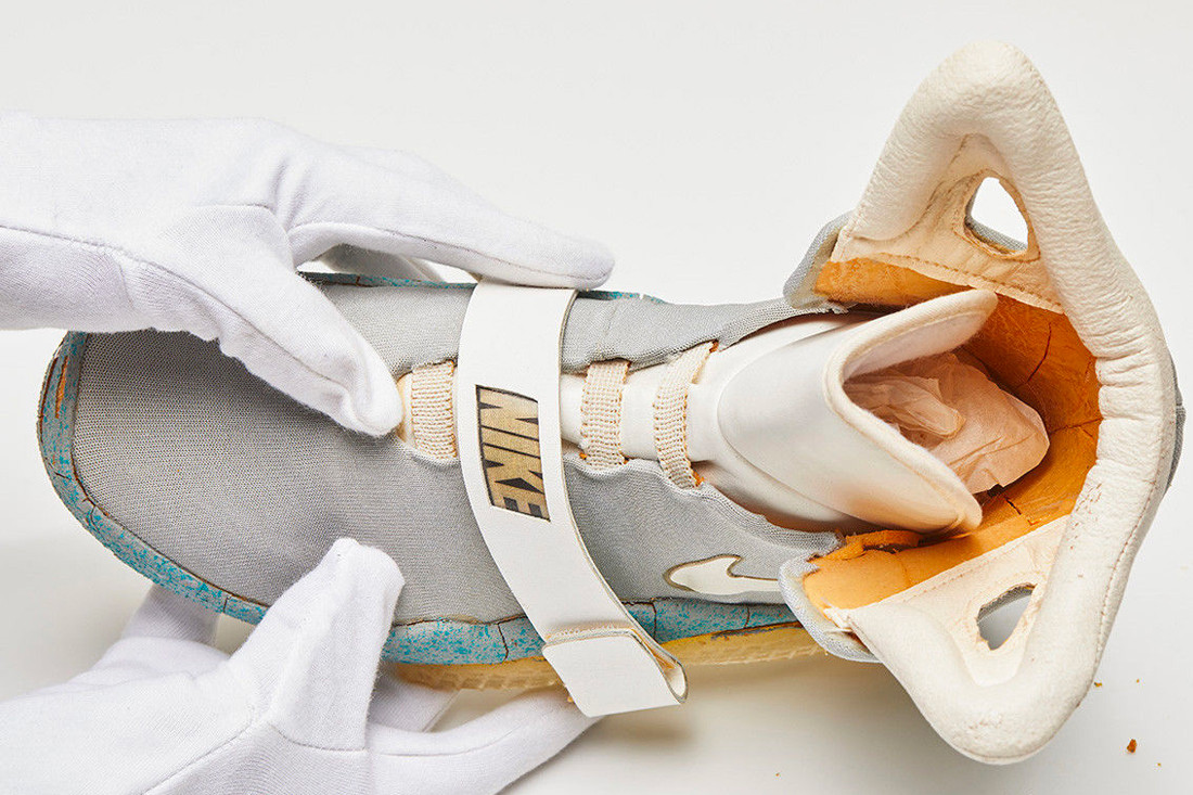 42b11328fbbf0 See How Much the OG Nike Mag From  Back to the Future II  Just Sold For
