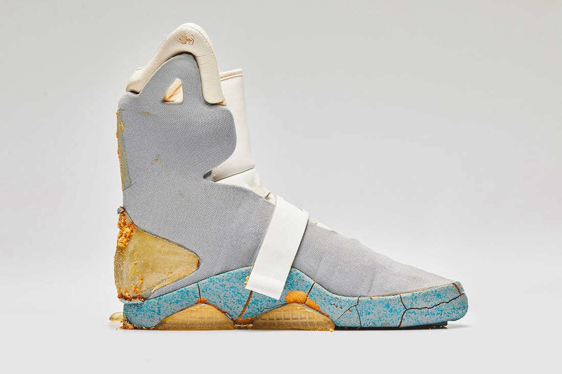 c72a31808 See How Much the OG Nike Mag From  Back to the Future II  Just Sold For