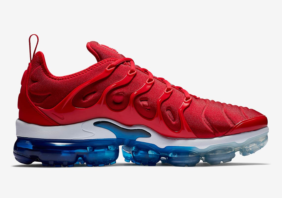 """4e14211904 Cop the Nike Vapormax Plus """"Firecracker"""" right now over at Foot Locker for  $190 USD."""