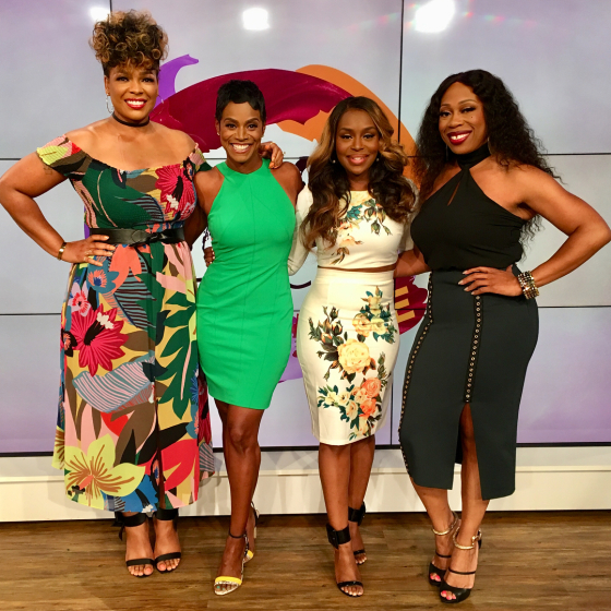 Sister Circle Cast Hersource Feature Up Close And Personal With The Tv Hosts