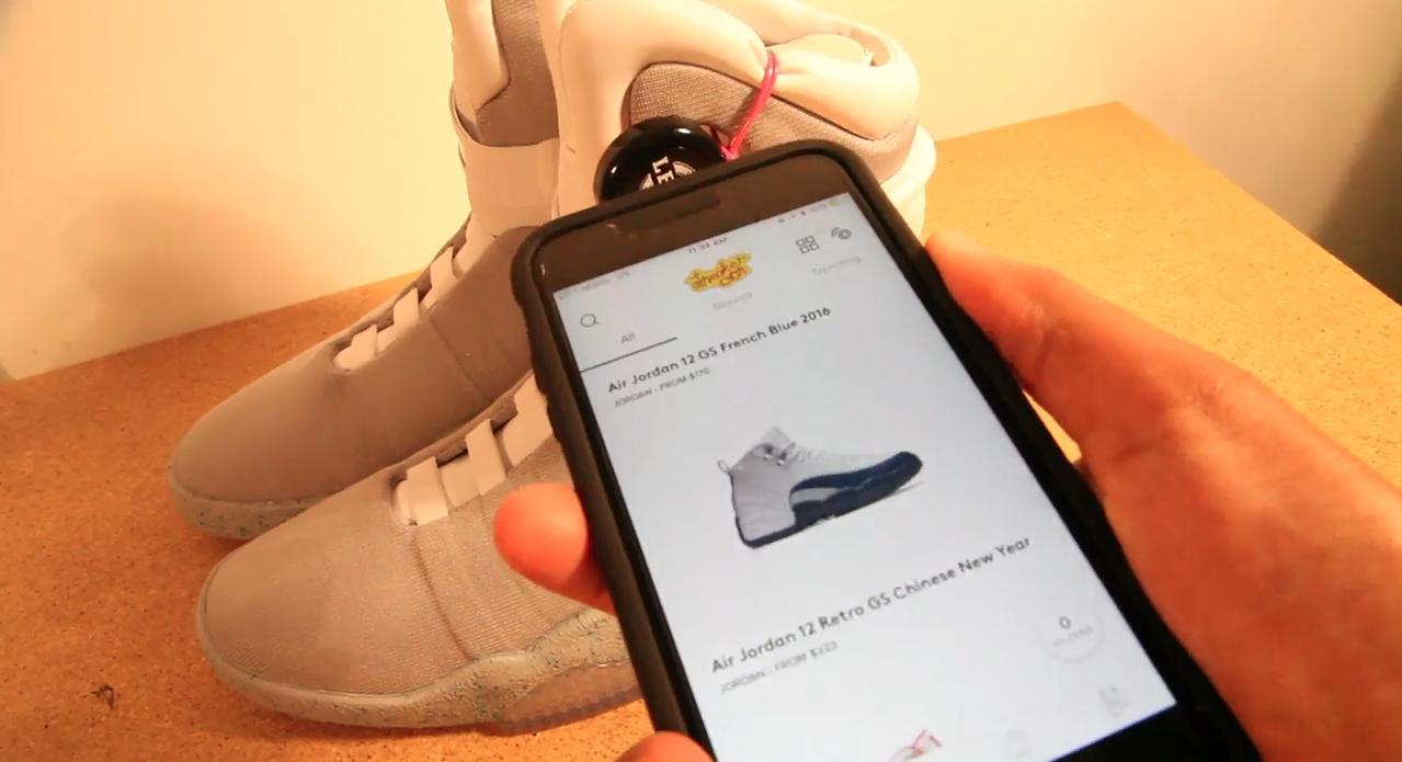 sneaker con app launch