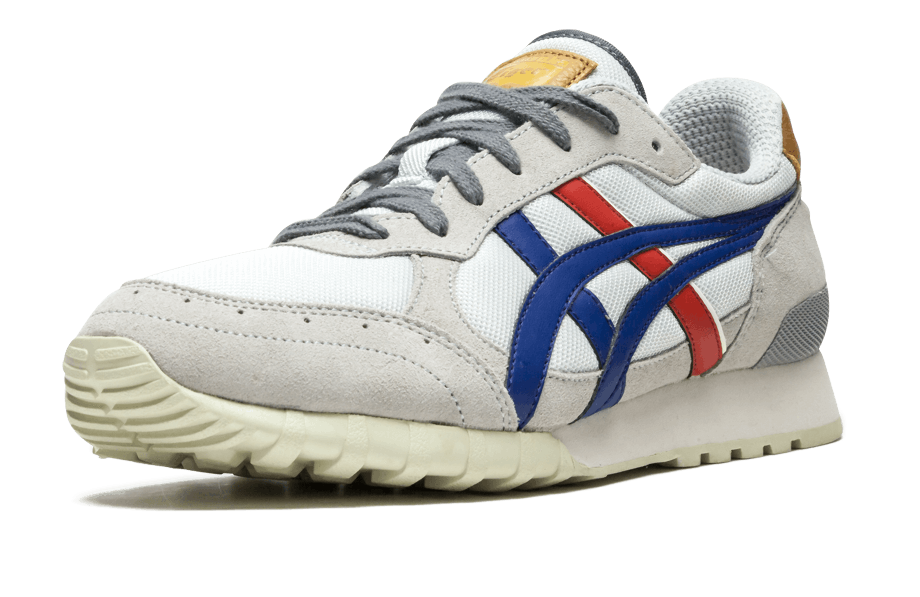 3472765de1f Cool, clean and even adds a pop of gold on the heel and tongue to  compliment the traditional red, white and blue hue.