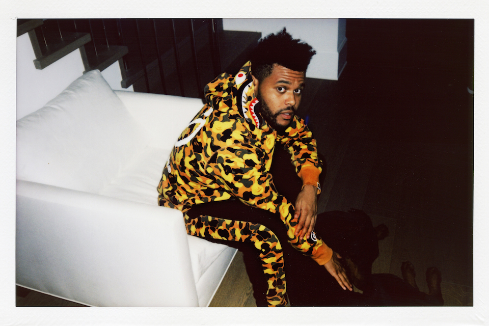 the weeknd bape summer  collection