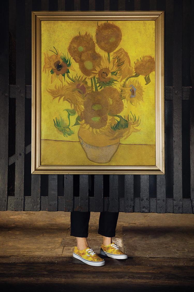 Vans x Vincent Van Gogh Collaboration Creates Wearable