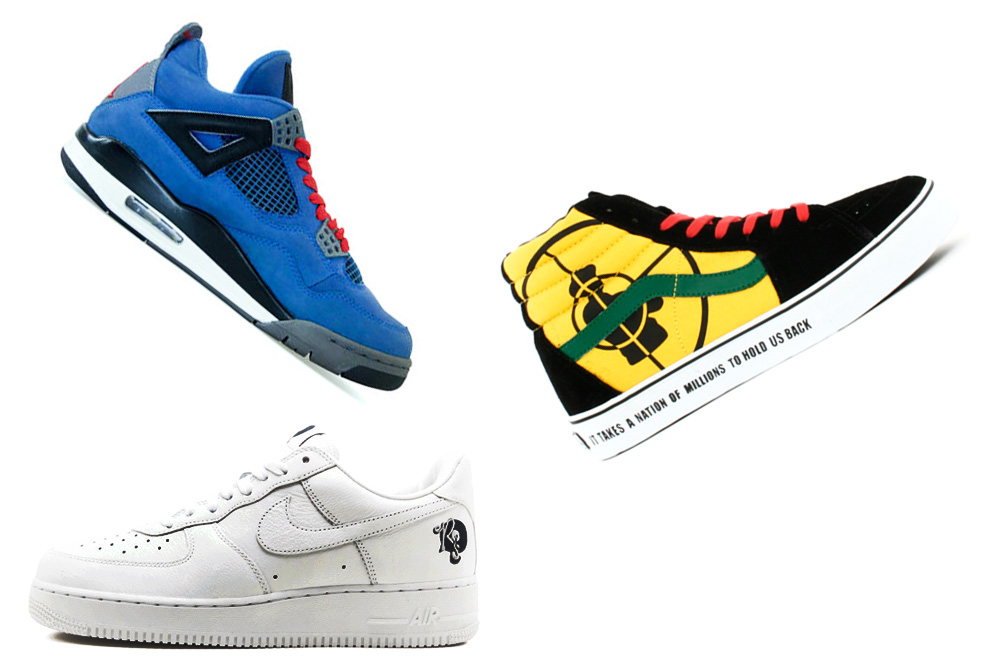 the latest ab39e e950a 10 Best Hip Hop-Themed Sneaker Releases