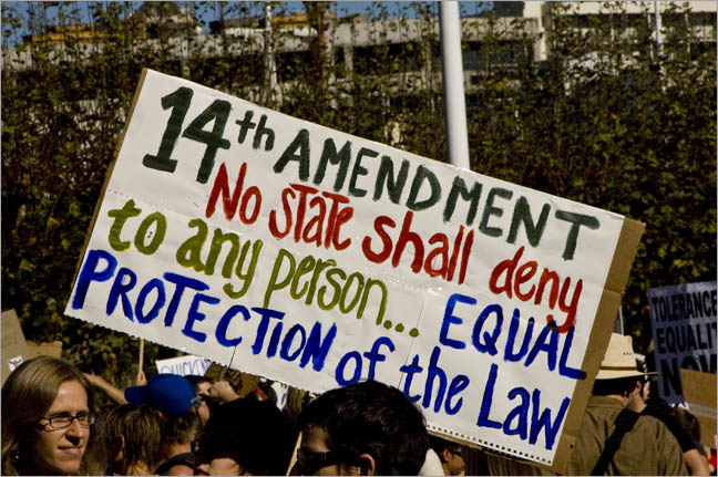 The 14th Amendment: Sadly, It Doesn't Always Apply to Blacks