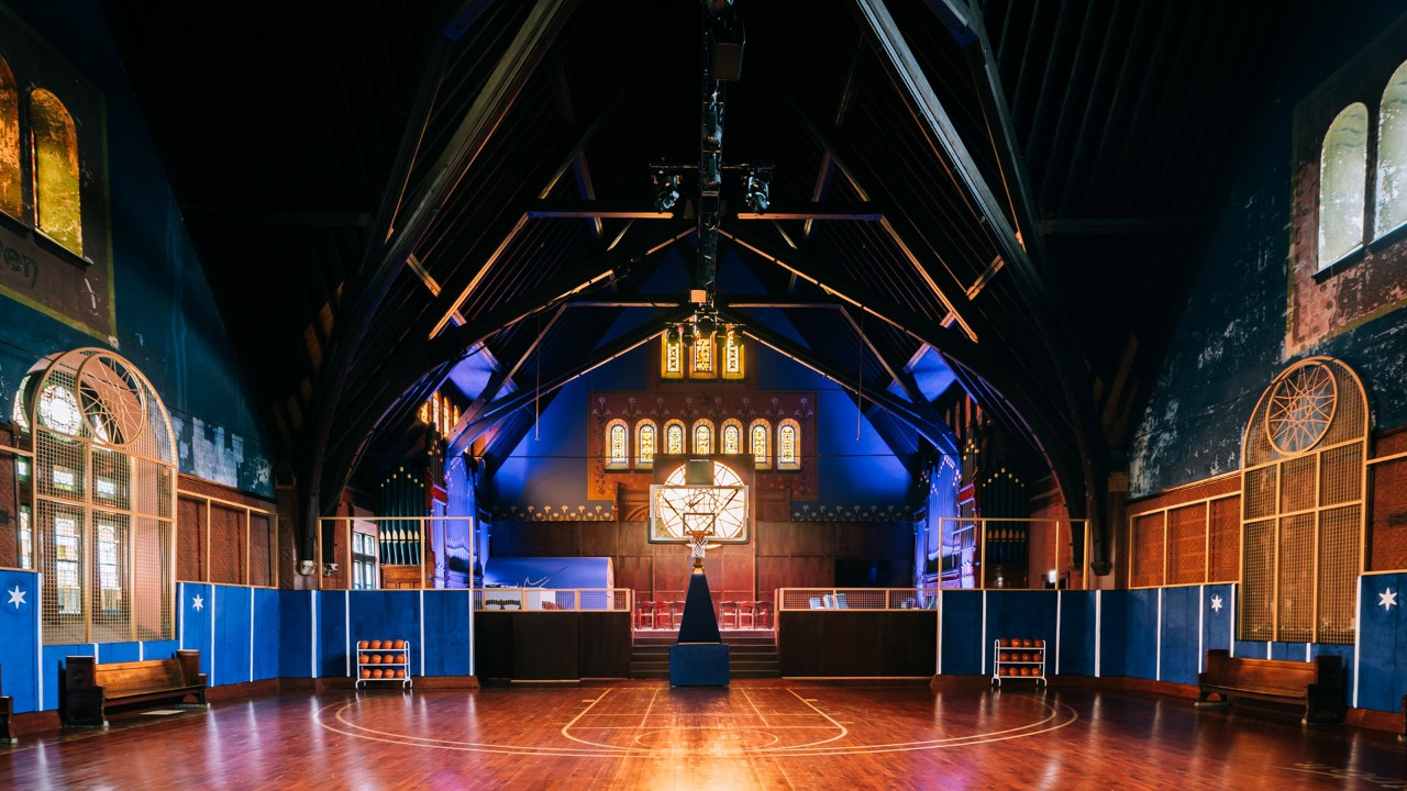 Nike Renovates Historic Church into Basketball Court for Chicago Youth