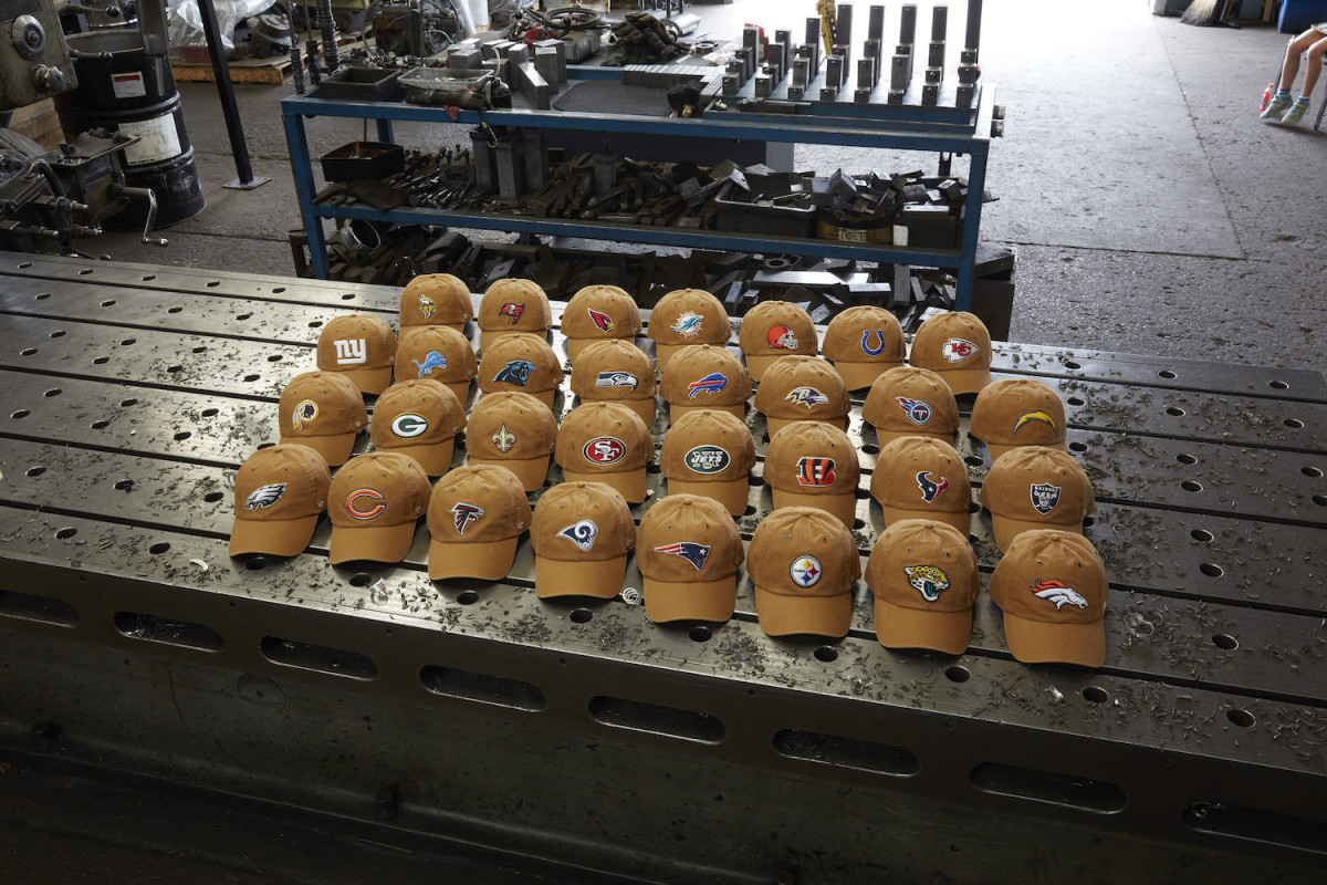 47   Carhartt Collaborate on a NFL-Themed Headwear Collection  86ab6522e6c