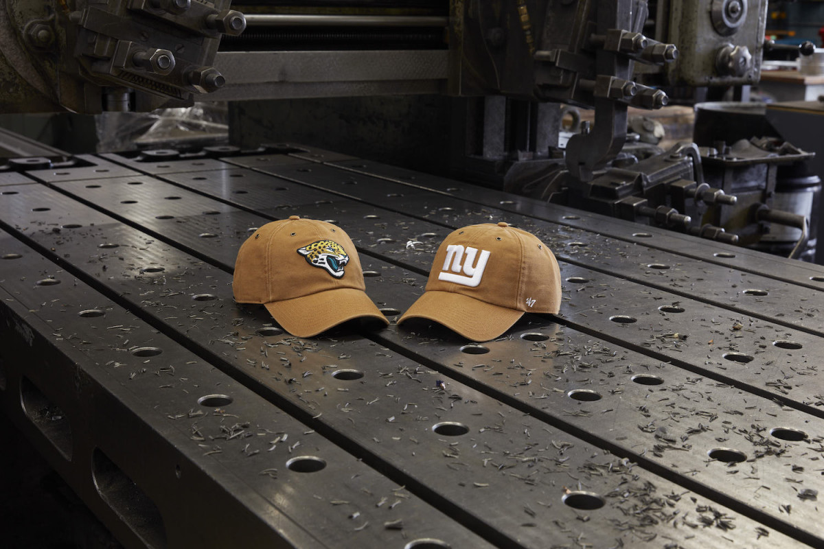 a0eeac13d 47 & Carhartt Collaborate on a NFL-Themed Headwear Collection | The ...