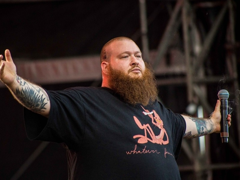 Action Bronson by Mike Lavin @thehomelesspimp