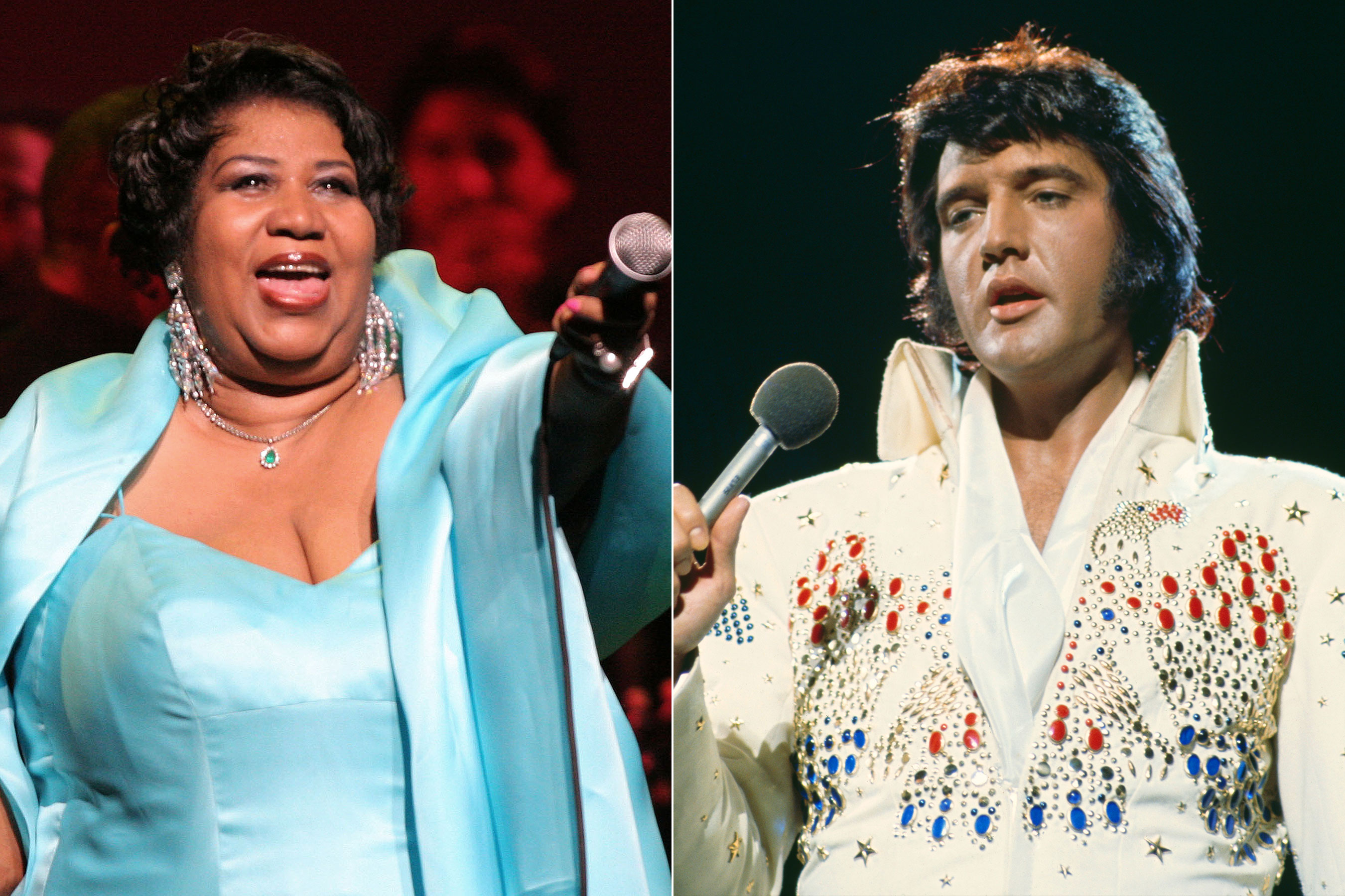 Aretha Franklin Died the Same Day as Elvis Presley