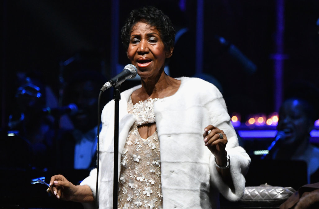 Aretha Franklin's Outfit Was Changed for Second Day of Public Viewing