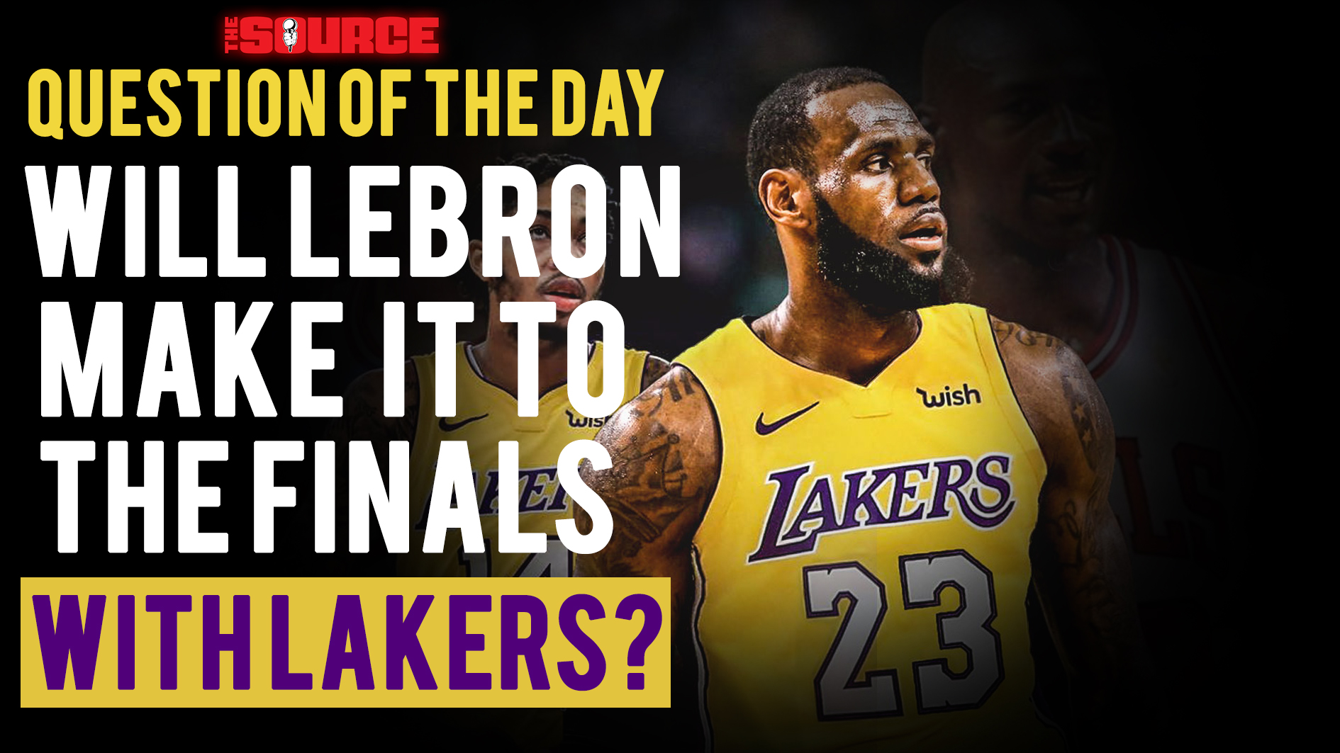2c78d667c0f0 Question Of The Day  Will Lebron Catch That Next Ring With The Lakers