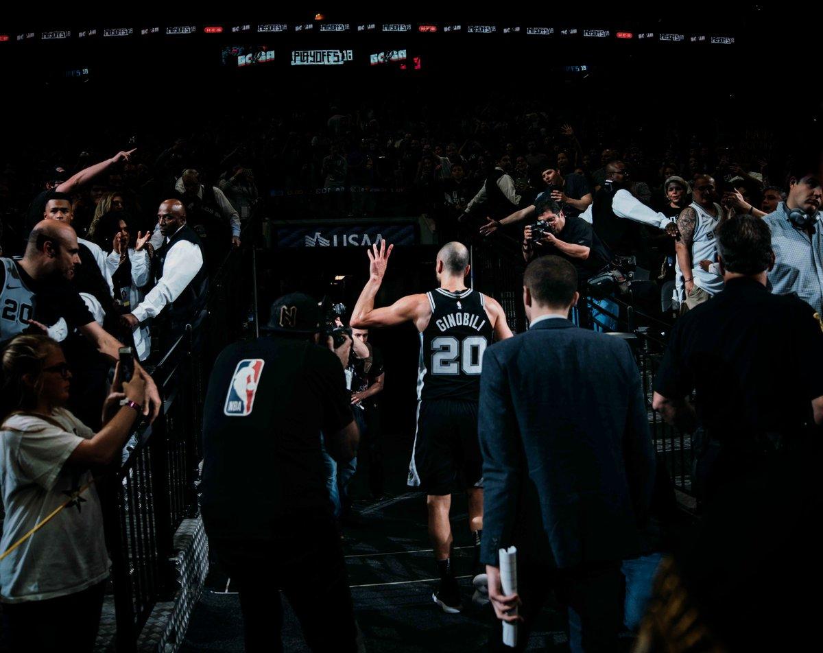 Manu Ginobili Announces His Retirement After 16 NBA Seasons