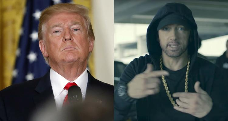 Eminem Reveals Donald Trump Sent Secret Service on him Following BET Cypher Freestyle