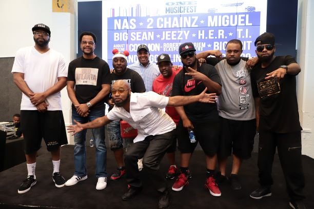 Atlanta Legends East Side Boyz, Trillville, Kilo Ali Attend 'Greater Than ONE' Press Conference