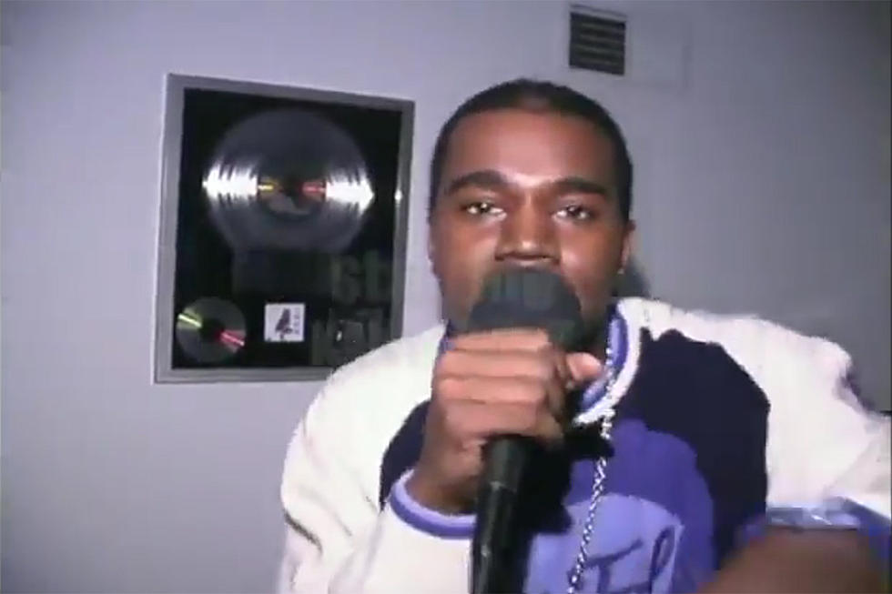 Kanye West Freestyle From 2000 Surfaces the Web